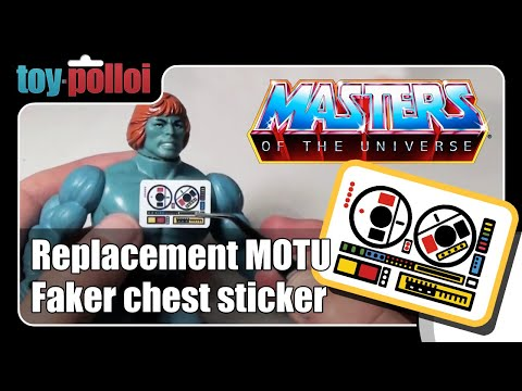 Fix it guide - MOTU Vintage Faker Sticker