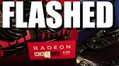 How to flash rx 480 to rx 580 with Atiflash - YouTube