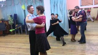 Танцы для взрослых. Начинающие. Медленный вальс. ч.3 дата 02.02.2014