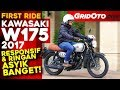 Kawasaki W175 2017 l First Ride Review  l GridOto