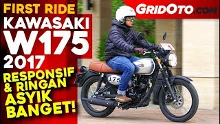 Kawasaki W175 2017 l First Ride Review  l GridOto
