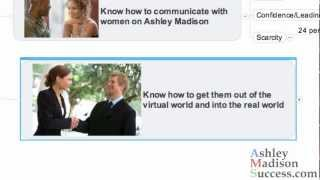 How To Be Successful On AshleyMadison - Part 3 Get Her Out Of The Virtual & Into The Real World
