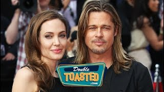 ANGELINA JOLIE FILES FOR DIVORCE FROM BRAD PITT - Double Toasted Highlight
