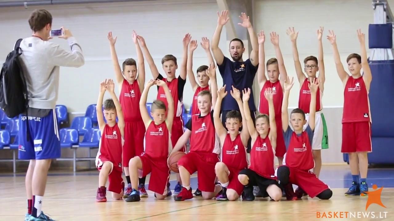 BasketNews.lt stovyklos dalyviams – trenerių ir teisėjų pamokos