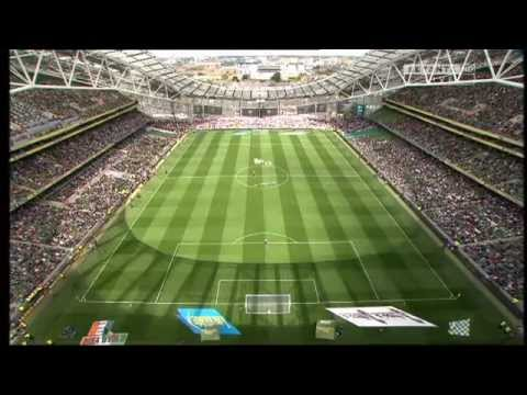 IRELAND V ENGLAND INTERNATIONAL FOOTBALL 7 / 6  / 2015