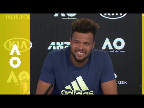 Jo-Wilfried Tsonga press conference (2R) | Australian Open 2018