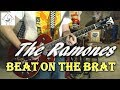 The Ramones - Beat On The Brat - Guitar Cover (Tab in description!)