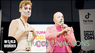 Transformations Panel with Jarry Armpits: RuPaul's DragCon NYC 2019