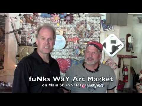 fuNks WaY Art Market in Safety Harbor, FL. interview
