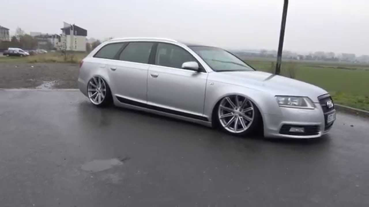 Hrosik racing audi a6 4f low airride 2015 youtube for Audi a6 4f interieur