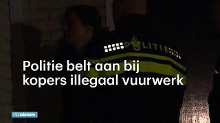 Politie langs de deur bij kopers illegaal vuurwerk - RTL NIEUWS