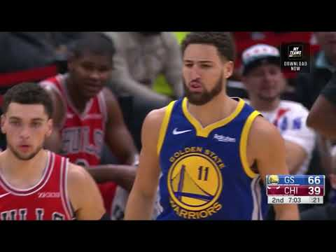 Klay Thompson - All 14 three pointers from his record-breaking performance