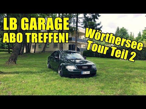 LB GARAGE ABO TREFFEN   Wörthersee Tour Teil 2