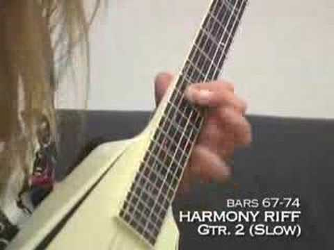 Alexi Laiho guitar lessons-- Are you dead yet?