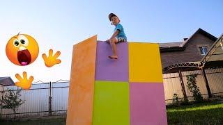 Строим для детей домик своими руками