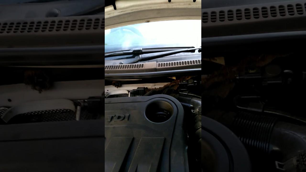 White smoke from engine oil dipstick - Team-BHP