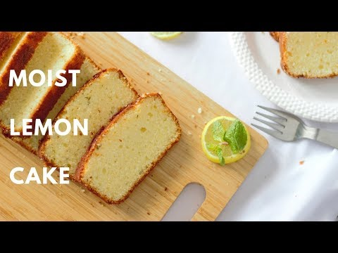 How To Make A Lemon Cake | Microwave Baking | Simple Cake Recipes For Beginners | Simple Moist Cake