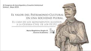 El valor del Patrimonio Cultural en una sociedad plural.