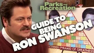 A Guide To Being...RON SWANSON | Parks and Recreation | Comedy Bites