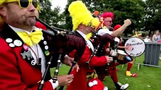 The Absurdist Pipe Band- Promo Video 2016
