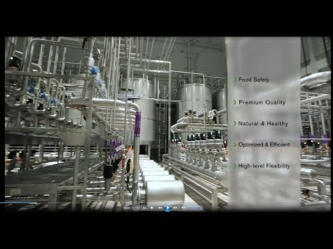 SPX FLOW and Food Union Partnership - 2 Advanced Dairy Production Plants in China - 9 minutes