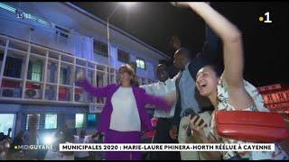 Municipales 2020 : Marie-Laure Phinéra-Horth Réélue à Cayenne
