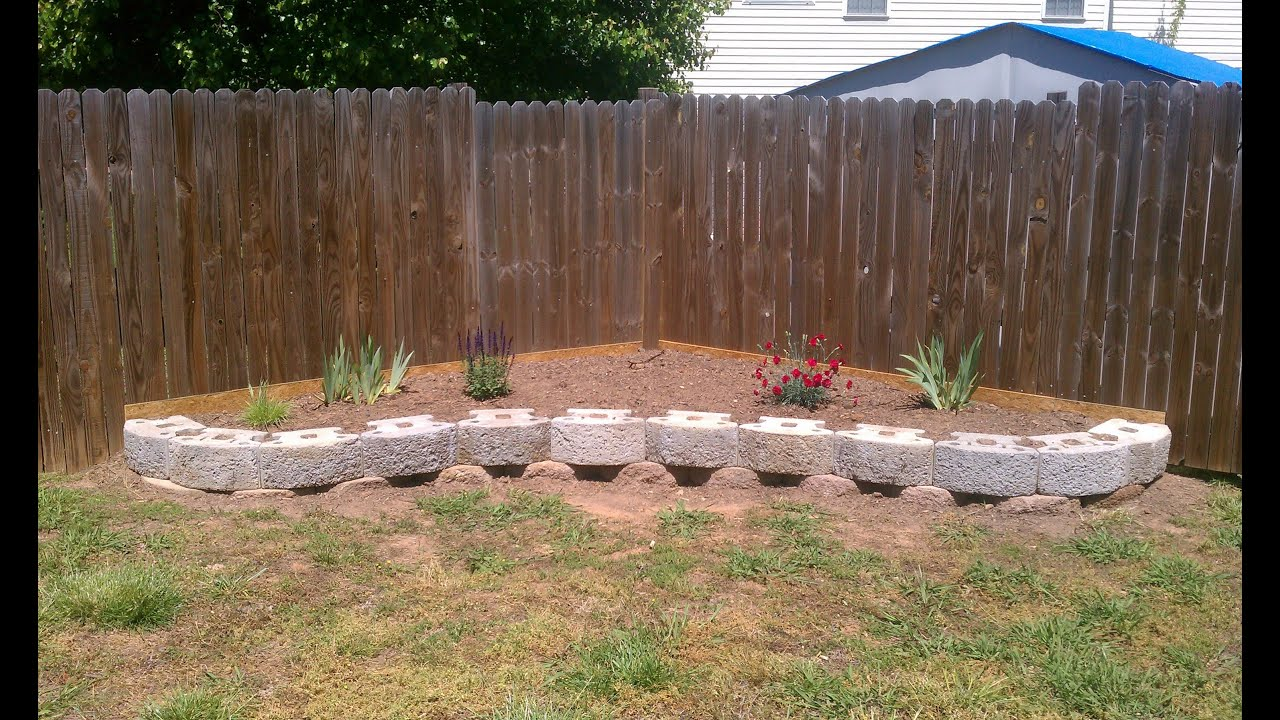 Awesome How To Build A Retaining Wall For CHEAP   YouTube