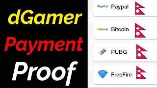 Free Diamond/  UC Payment Proof | dGamer New Update  2020 March | vGamer  To  dGamer