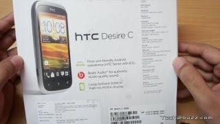 hTC Desire C Unboxing