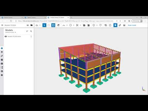 Compartir Modelos de Tekla en la Web a través de Trimble Connect