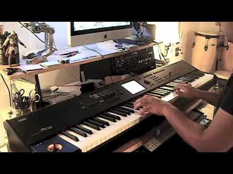 David The Gnome Opening Theme On Korg M50