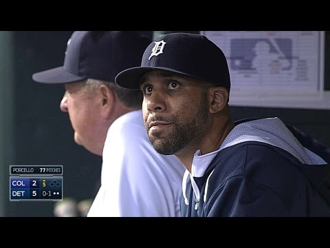 COL@DET: Price dons Tigers uniform for first time