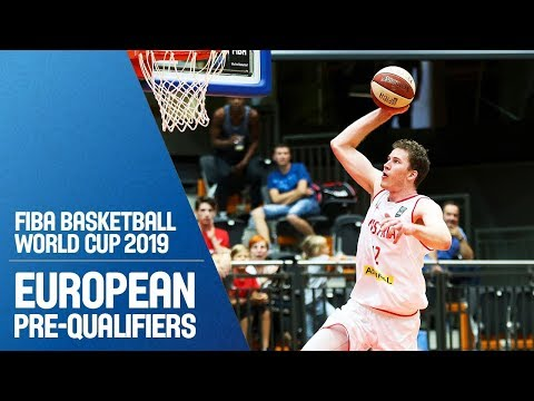Austria v Albania - Full Game - FIBA Basketball World Cup 2019 - European Pre-Qualifiers