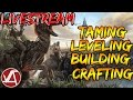 TAMING, LEVELING-UP, BUILDING AND CRAFTING- ARK SURVIVAL EVOLVED LIVESTREAM WITH @_TheSupremacy_