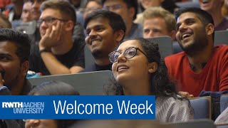 🎓🎓🎓 NEW international students: Welcome Week at RWTH 🎓🎓🎓