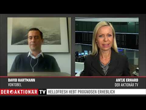 Zertifikate-Aktuell mit David Hartmann: HelloFresh: Gewinnprognose rauf - Wie nachhaltig ist das?
