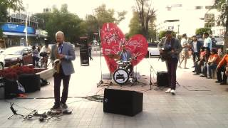 Funky Groove trio   feel good  - en Paseo Chapultepec