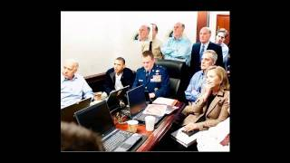 IN THE WHITE HOUSE SITUATION ROOM - 1 MAY 2011 by Pete Souza