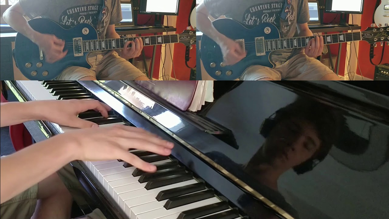 Ghost Life Eternal Pianoguitar Cover Tabschords Youtube