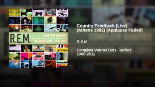 Country Feedback (Live) (Athens 1992) (Applause Faded)