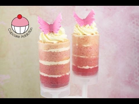 Beautiful Ombre Push Pops Make Layered Cake Shooters A