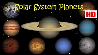 Solar System & Planets for Kids to Learn | Kids Learning Videos | Let's Learn Solar System Planets