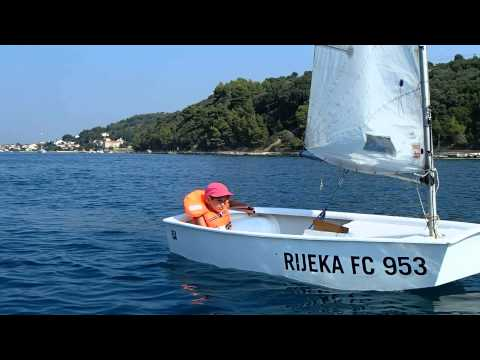 Marina sailing in Croatia