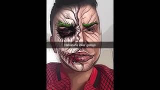 Joker gülüşü Snapchat
