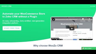 Zoho CRM for WooCommerce - Setup Connection