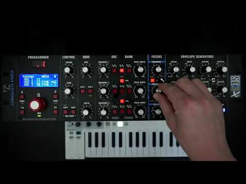 Studio Electronics SE3X - First Patch Groove