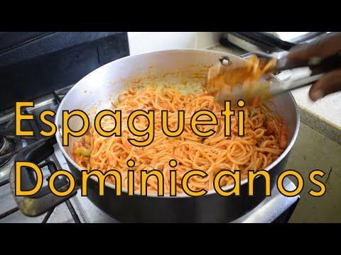 Receta Espagueti estilo Dominicano - Cocinando con Yolanda