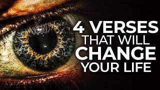4 BIBLE VERSES tнat CHANGED My Whole LIFE | 4 POWERFUL VERSES