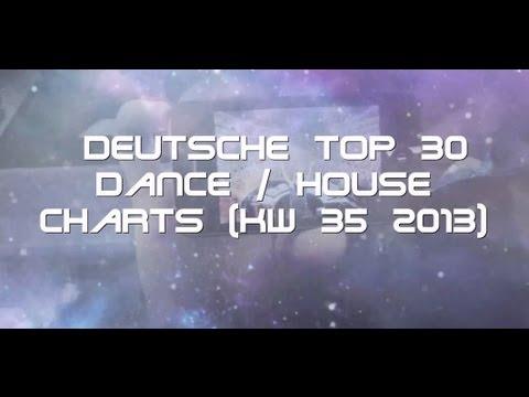 Deutsche Top 30 Dance / House Charts [KW 35 2013]