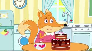 Fox Family Сartoon for kids #387